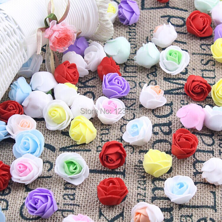 Free Shipping 50PCS/Lot Artificial Creative bubble head rose wreath pectoral flower bouquet materials color optional(China (Mainland))