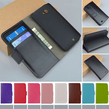 Luxury Vintage PU Leather Wallet Stand case for Amoi N820 N821 N828 Cover Phone Bag with Card holder J&R Brand 9 colors(China (Mainland))