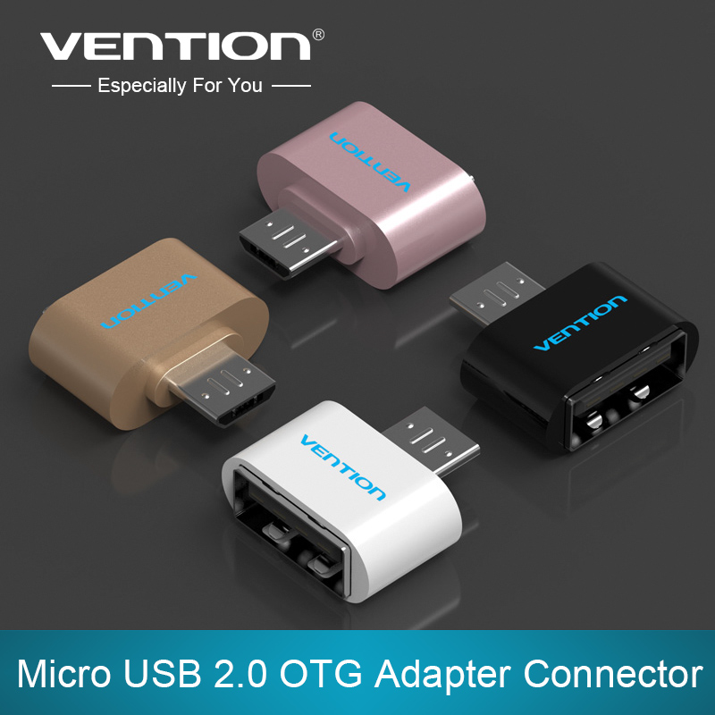 VENTION Micro USB To USB OTG Adapter 2.0 Converter For Tablet Pc to Flash Mouse Keyboard(China (Mainland))