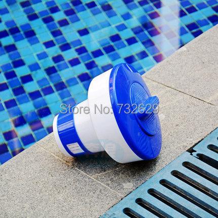 2pcs/lot 20g swimming pool chemical chlorine dispenser for inflatable pool cleaner dispensador de cloro(China (Mainland))