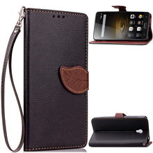 """Buy Lenovo Vibe P1 Flip Case 5.5"""" Leaf Leather Case Lenovo P1 Stand Shockproof Soft Wallet Cover Phone Shell Card Holder for $3.48 in AliExpress store"""