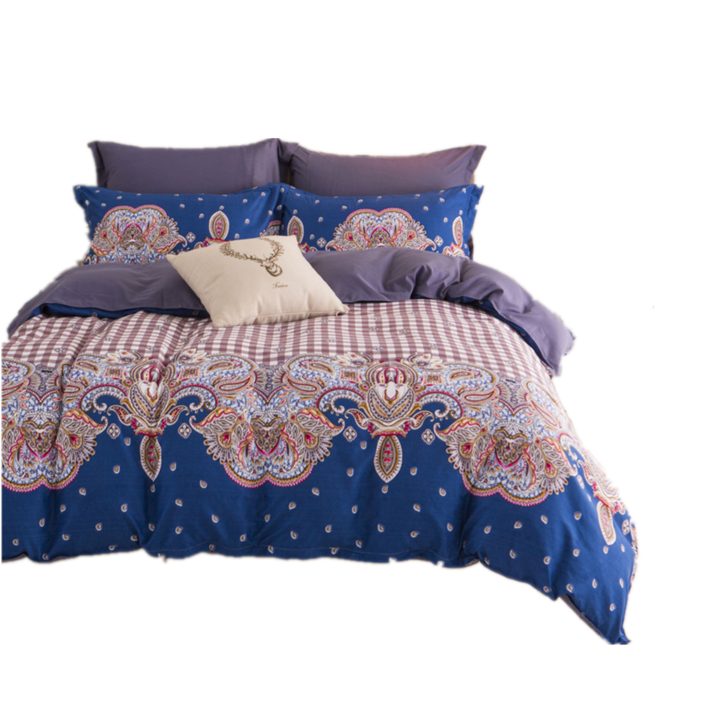 Cotton bedding set promotion shop for promotional cotton for Housse de couette king size