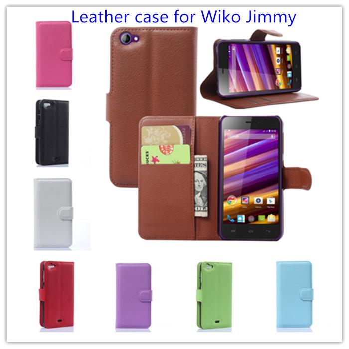 luxury book style Wiko Jimmy case Wallet Flip leather - Shen Zhen Kingma Electronic Co., Ltd store