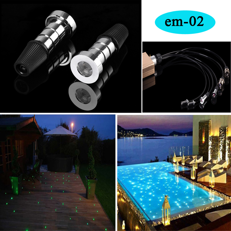 fiber optic light end pieces for ceiling sauna swimming pool lights(China (Mainland))