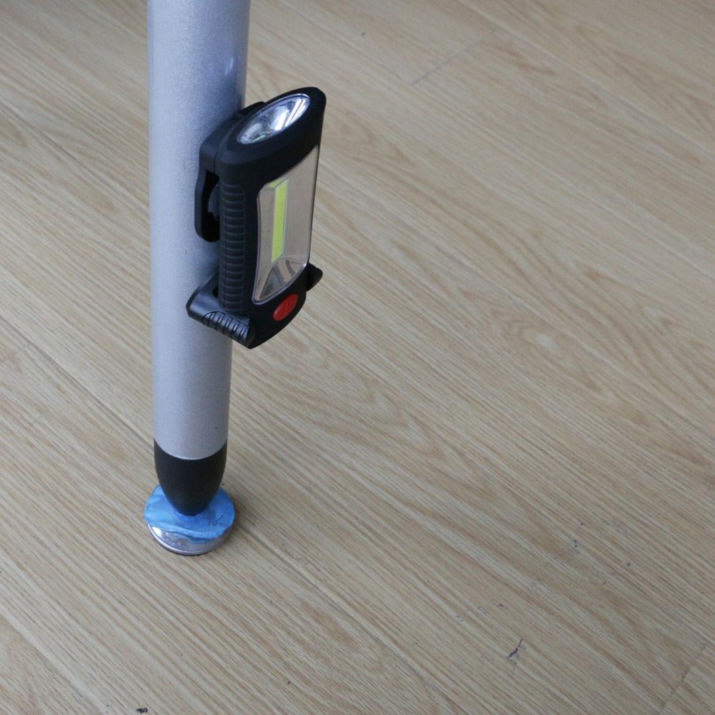Coquimbo 2-Mode COB LED Flashlight Torch Magnetic Working Folding Hook Light Lamp Torch Linternas Multi-functional Lanterna Lamp