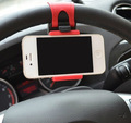Universal Car Steering Wheel Holder for Phone GPS Free Hand Stand Car Holder Support