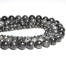 Buy AAA+ Black Spectrolite Natural Stone Beads Jewelry Making Labradorite Stone DIY Bracelet Necklace 4mm 6mm 8mm 10mm 12mm 16'' for $1.29 in AliExpress store