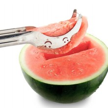 1000pcs Watermelon Slicer and Corer & Server by EcoLife Not Sharp Safe Eco and Environmentally Safe 100% Perfect for Melons(China (Mainland))