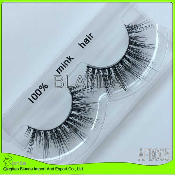 Hot sale 2015 New handmade real 3D mink lashes 100pairs/lot Luxury Real Mink Fur Strip Eyelashes UPS Free Shipping(China (Mainland))