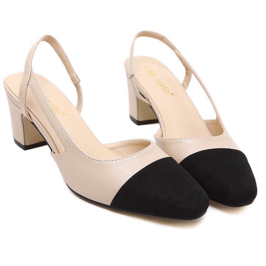 new 2016 factory shoe women pointed toe low heel pump lady single ol work career spring fall shoe<br><br>Aliexpress