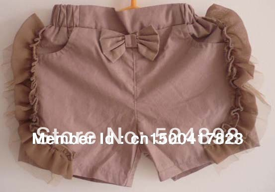 DOMIR KIDS 100%Cottn girls  Lace stort this one  Free shipping