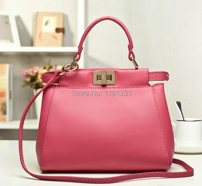 New Luxury Fashion Vintage Star Style Celebrity Noble Genuine Leather Handbags Designer Brand
