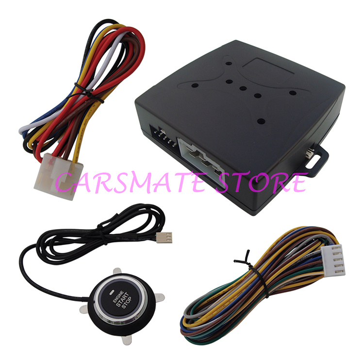 Stock In USA! Smart Remote Start Car Module With Engine Start Stop Button 10 Minutes Countdown Stop Car(China (Mainland))