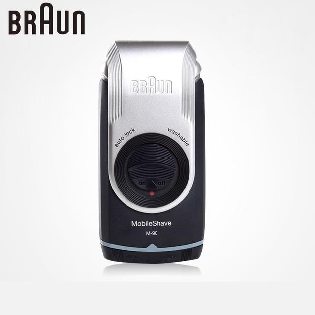 Браун электробритвы для мужчин M90 электрическая бритва моющиеся сабельная лезвия ...