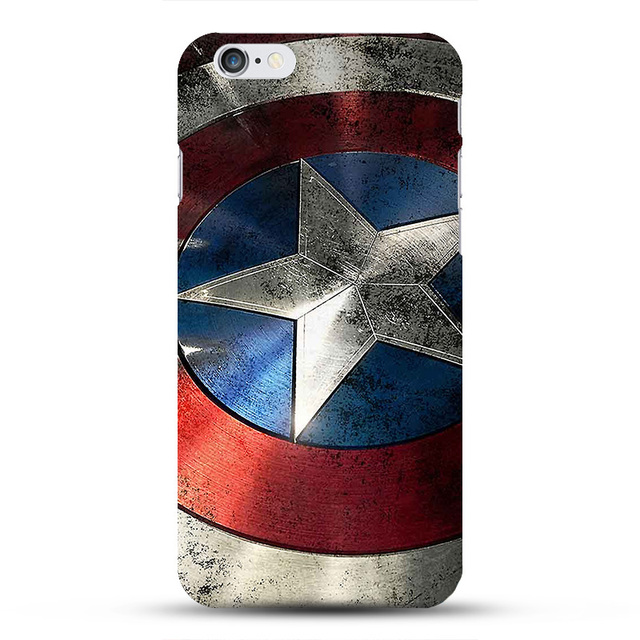 Case iPhone 6/6S/6 plus /7/7Plus Marvel różne wzory