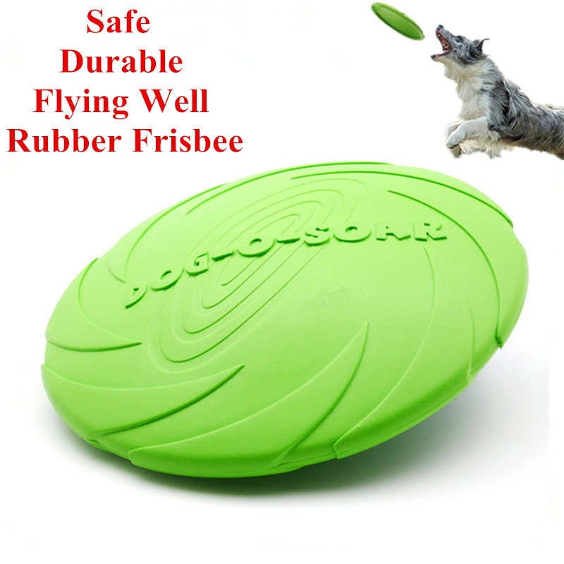 Eco-friendly Pet Product Natural Rubber Material Pet Dog Toy Frisbee Dog Training(China (Mainland))