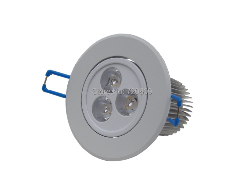 1 3x3W Dimmable LED Ceiling Lamp Downlight White Recessed Spot Light Warm New - Bonjourled store