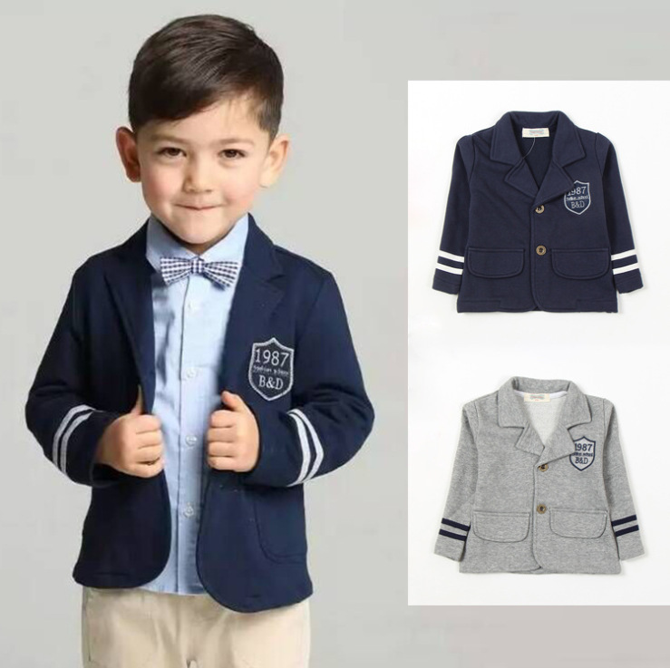 Brand 2016 new Spring children College of British style Childrens casual suit jacket boys coat for 2-6 aged free shipping<br><br>Aliexpress