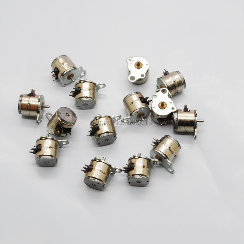New arrival 10pcs nidec 4 wire 2 phase micro stepper motor for Very small stepper motor