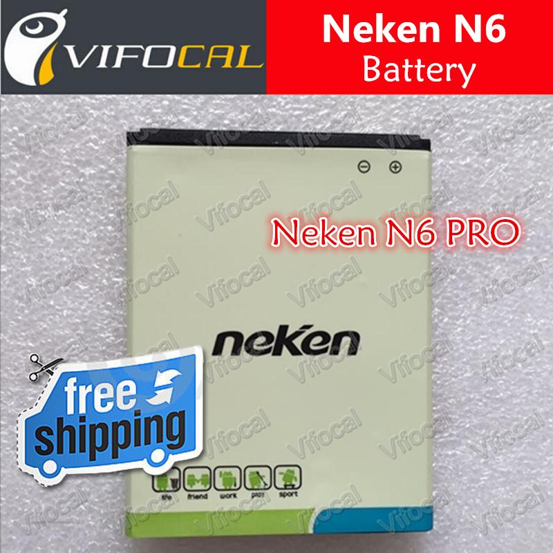 Neken N6 battery 2000mAh 100 Original Replacement Battery for Neken N6 PRO Smart Mobile Cell Phone