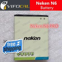 Neken N6 battery 2000mAh 100% Original Replacement Battery for Neken N6 PRO Smart Mobile Cell Phone + Free Shipping + In Stock