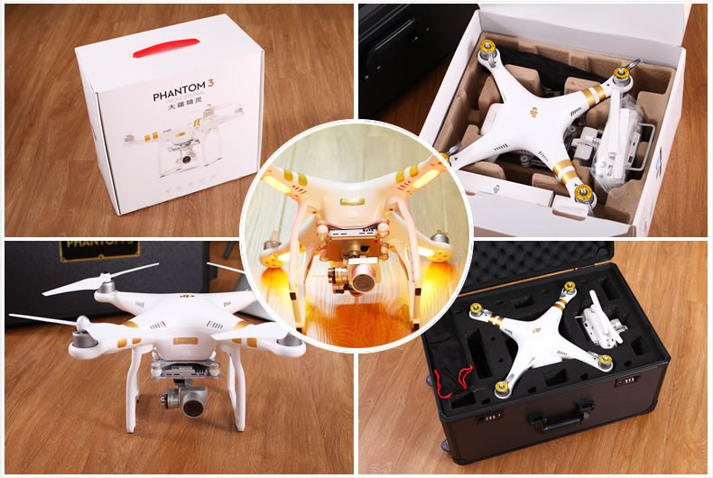 IN Stock DJI Phantom 3 Professional 4K quadcopter RC Drone Quad Copter RTF GPS FPV PK Phantom 3 Advanced Inspire 1 Yuneec
