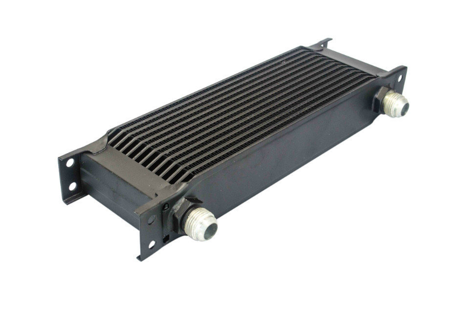 WLR STORE 13 row British type Aluminum Universal Engine transmission oil cooler 13rows Black WLR7013BK