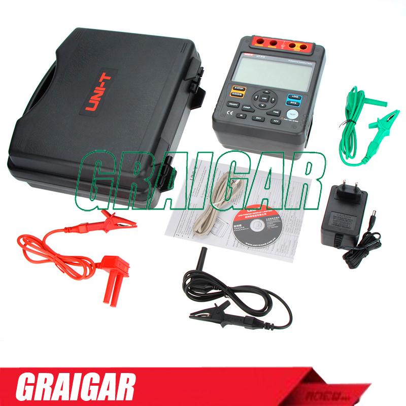 Uni T Ut512 Insulation Resistance Tester Meter Ohm 2500v Usb Interface ohm<br><br>Aliexpress