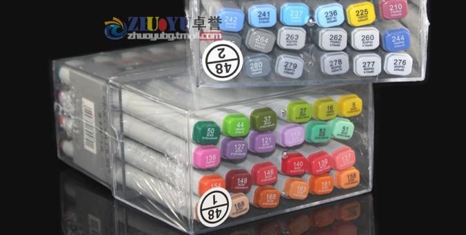 48 Colors First Generation EF100 48manga Alcohol Finecolour Sketch art Marker pen Professional Artist Pens - Ange Store store