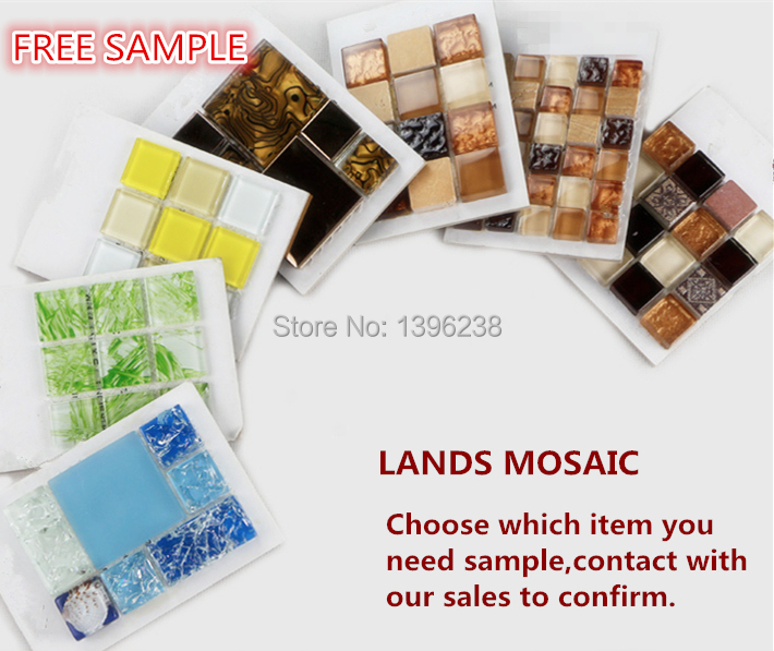 FREE SAMPLE, glass mosaic sample,marble sample,sliver metal sample ect