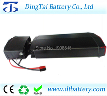 New rear rack tail light lithium ion battery pack 36V 11ah 250W 350w motor power charger - DingTai Battery Store store