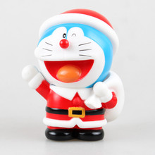 Buy Anime Figure 13 CM Doraemon Christmas Doraemon Money Pot Piggy Bank PVC Action Figure Toys Model Collectibles Dolls Brinquedos for $11.75 in AliExpress store