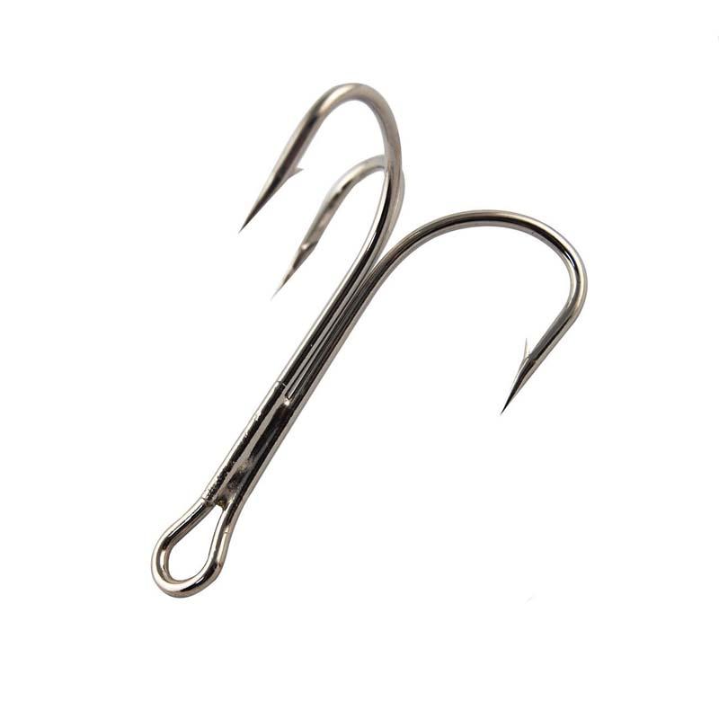 20pcs/lot Extra Strong Oshaughnessy Fish Hook Sharpened Treble Hook 8/0 Big Game Fishing Hooks<br><br>Aliexpress