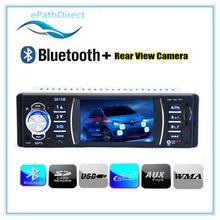 3.6 inch TFT Screen  Car Radio Bluetooth Audio Stereo MP4 MP5 Player Support Rear Camera Video FM USB / SD / MMC 12V(China (Mainland))
