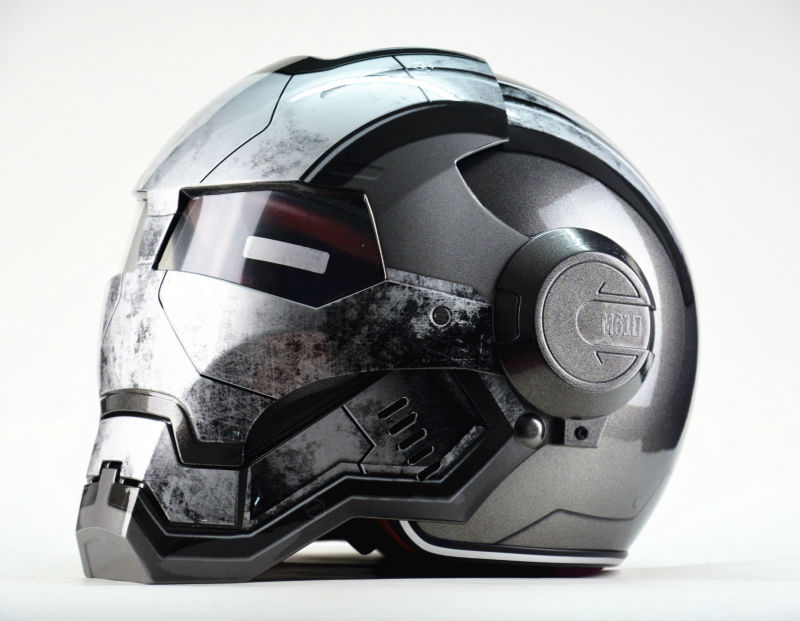 war machine motorcycle helmet