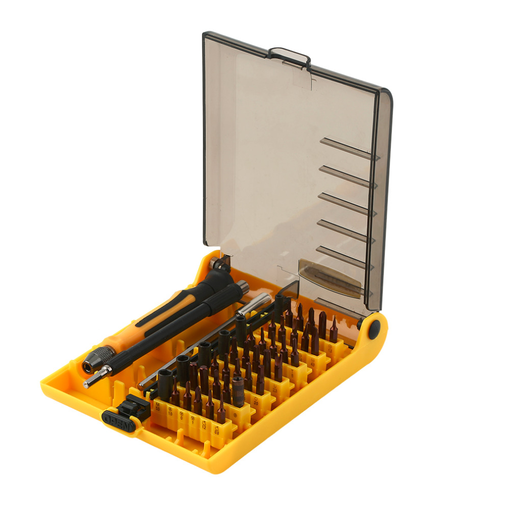 45 1 magnetic precision screwdriver set torx screw Driver Tool kit professional tools phone repair - Shenzhen SuperDeal Technology Co., Ltd. store