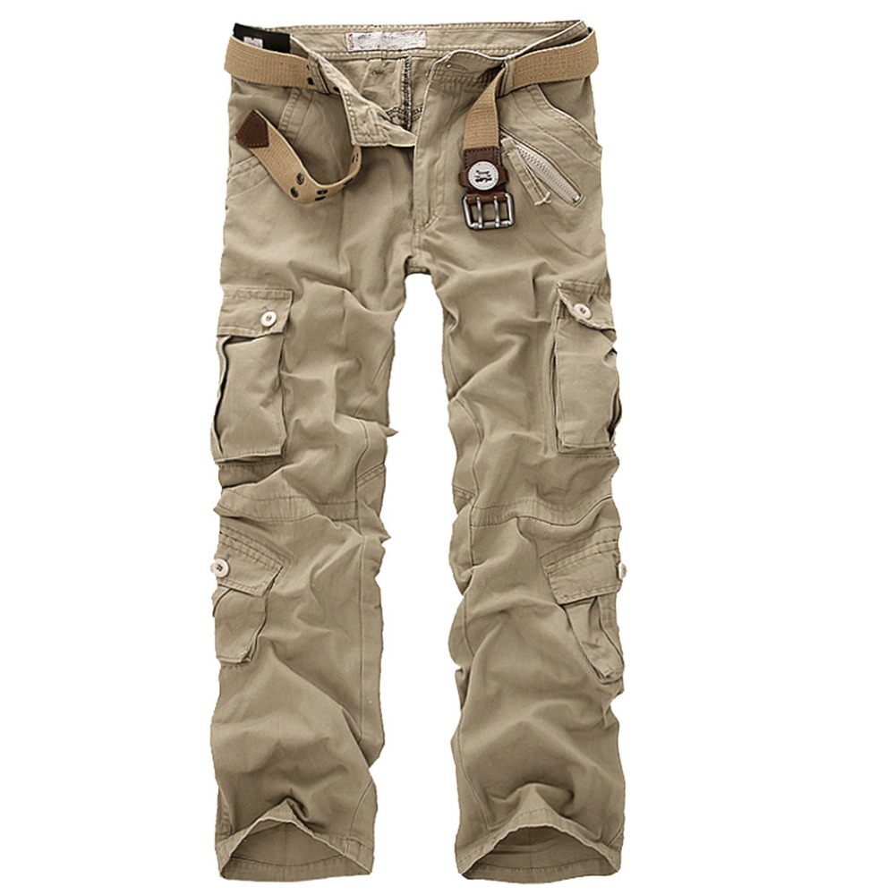 28-46 Men's Military Army Desert Camouflage Pants Men Cotton Outdoor Casual Sport Trousers Men Tactical Swat Camo Cargo Pants(China (Mainland))