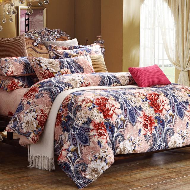 winter warm sanding comforter bedding sets king super soft cotton wedding duvet cocer set. Black Bedroom Furniture Sets. Home Design Ideas