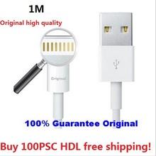 100% IOS 9 оригинальные данных USB кабель заряжателя Sync свинец для iPad 4 iPad mini iPhone6 6 s плюс 5 5c 5S оригинальный кабель доставка DHL
