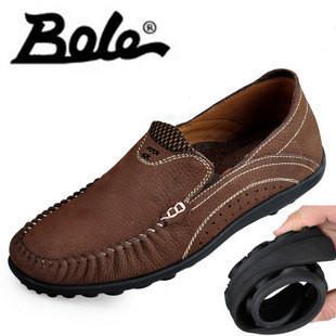 Бесплатная доставка! Мужской кожа 2013 мужская мягкая подошва свет мягкие кожаные ботинки пятидесяти лет кожа мужской