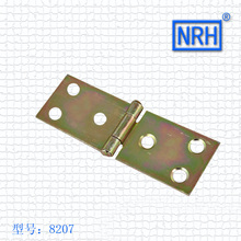 Hinge Ordinary Flat Color Zinc Plating Support Packing Bags Positioning Cupboard Door Hinge 8207 (China (Mainland))