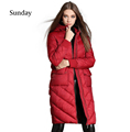 2016 New Winter Collection Winter Women Down Coat Jacket Long Warm High Quality Woman Down Parka