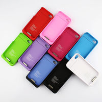 External Backup Battery Charger Case Cover Power Bank 1900mAh For Apple iPhone 4 4G 4S with Retail Box