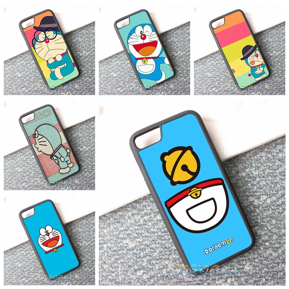 Japan Japanese cute kawaii Doraemon fashion cell phone case cover for iphone 4 4s 5 5s se 5c 6 6s 6 plus 6s plus 7 7 plus #ZD30(China (Mainland))