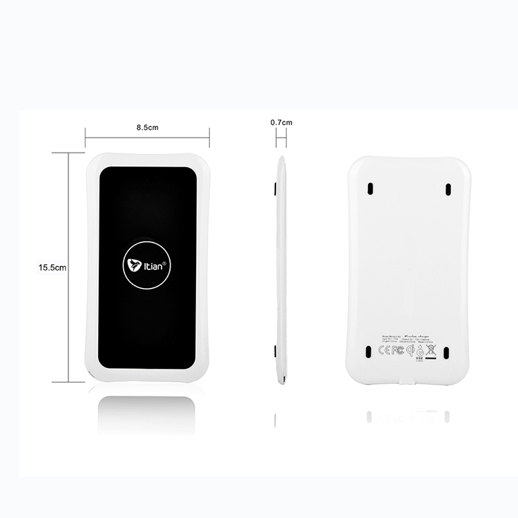 Itian K8 Qi Wireless Charger Inductive Mobile Phone Charger for Samsung S6 / S6 edge / S6 edge+ Google Nexus 4/5 Lumia 920