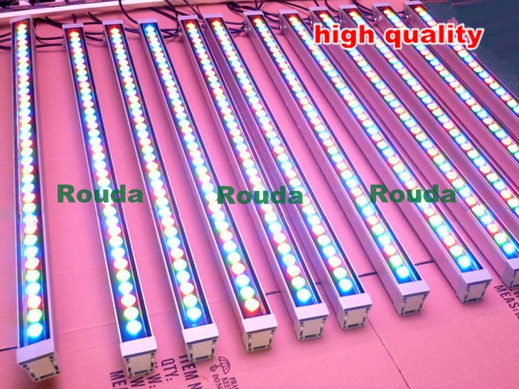free ship wall washer 18W 18*1W dmx led wall washer rgb/pure white/warm white ect L1000mm * W46mm * H46mm outdoor lighting(China (Mainland))