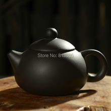 free shipping purple grit yixing teapot traditional ceramic chinese teaset black color