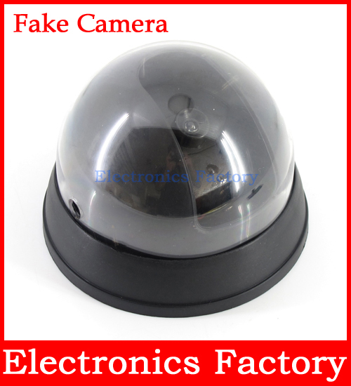 Outdoor Waterproof Surveillance Dummy Home Ir Led Fake Dome CCTV Security Camera + Motion Detector(China (Mainland))