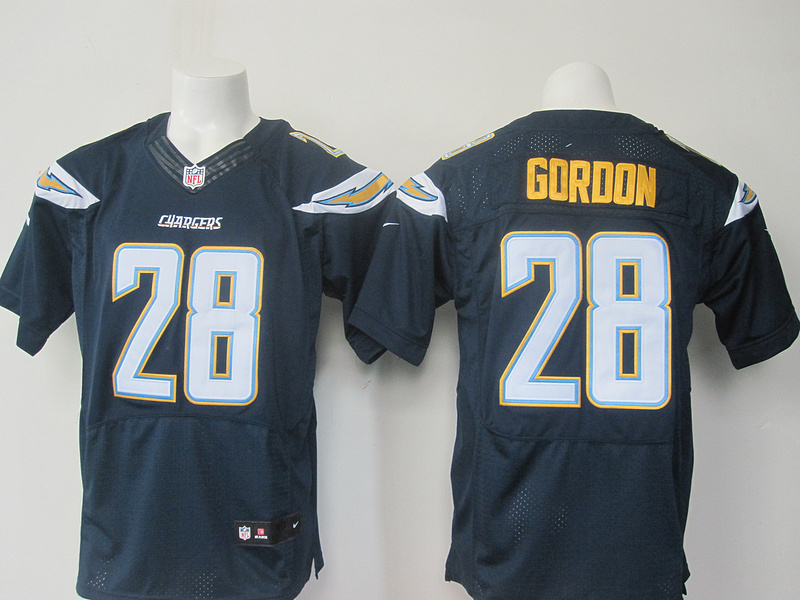 2016 elite Men San Diego Chargers,17 Rivers, 28 Melvin Gordon,85 Antonio Gates,50 Manti Te'o,Navy Blue White, 100% stitched logo(China (Mainland))