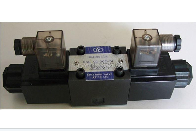 Yuken Type Hydraulic Solenoid Valve DSG-02-3C2-DL-DC12V Max.31.5Mpa(China (Mainland))